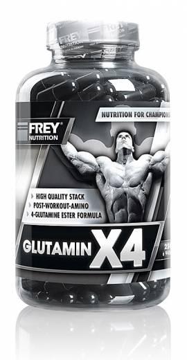 GLUTAMIN X4 - 250 Kps. - Bild vergrößern