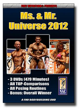 Ms. & Mr. Universe 2012 (NAC Int.) - Bild vergrößern