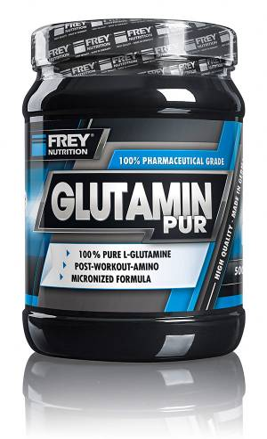 GLUTAMIN PUR - 500 g - Bild vergrößern