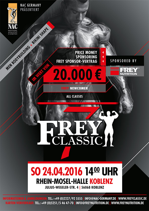 FREY Classic 2016 Poster