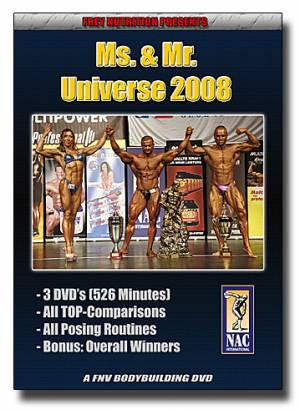 Ms. & Mr. Universe 2008 (NAC Int.) - Bild vergrößern