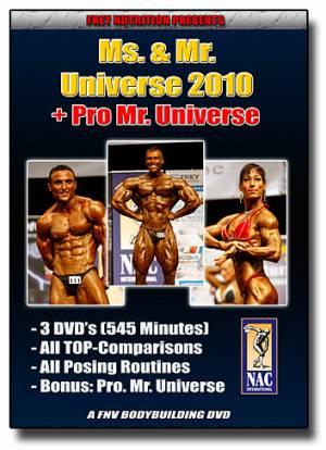 Ms. & Mr. Universe 2010 (NAC Int.) - Bild vergrößern