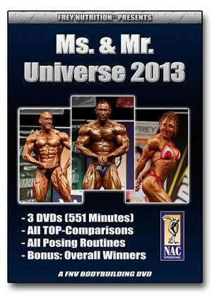 Ms. & Mr. Universe 2013 (NAC Int.) - Bild vergrößern