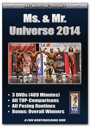 Ms. & Mr. Universe 2014 (NAC Int.) - Bild vergrößern