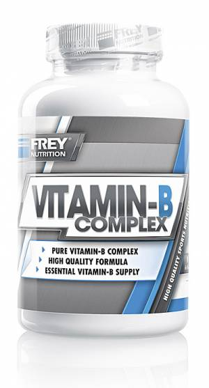 VITAMIN-B COMPLEX - 120 Kps. - Bild vergrößern