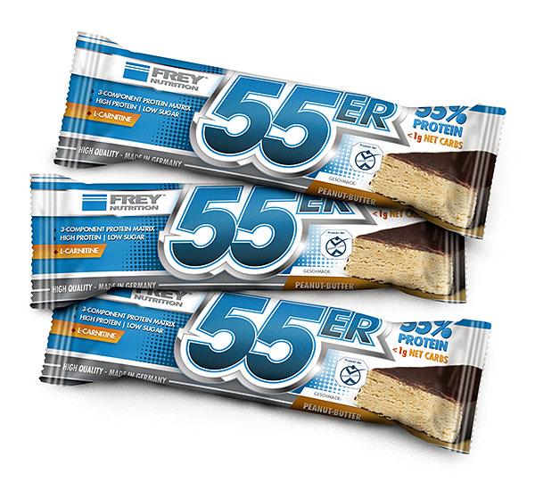 55er Riegel - Peanut-Butter