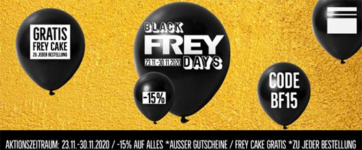 BlackFREYdays | 15 % auf ALLES