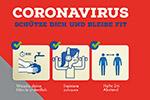 Corona-Virus - Schütze dich und bleibe fit