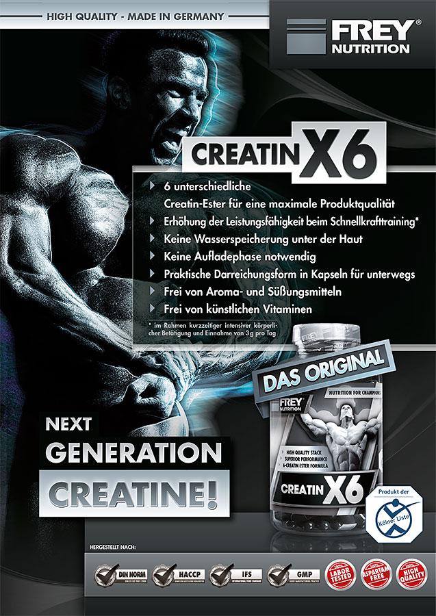 CREATIN X6 Infoflyer