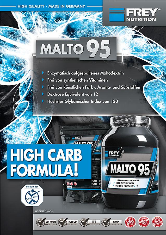 MALTO 95 Flyer front