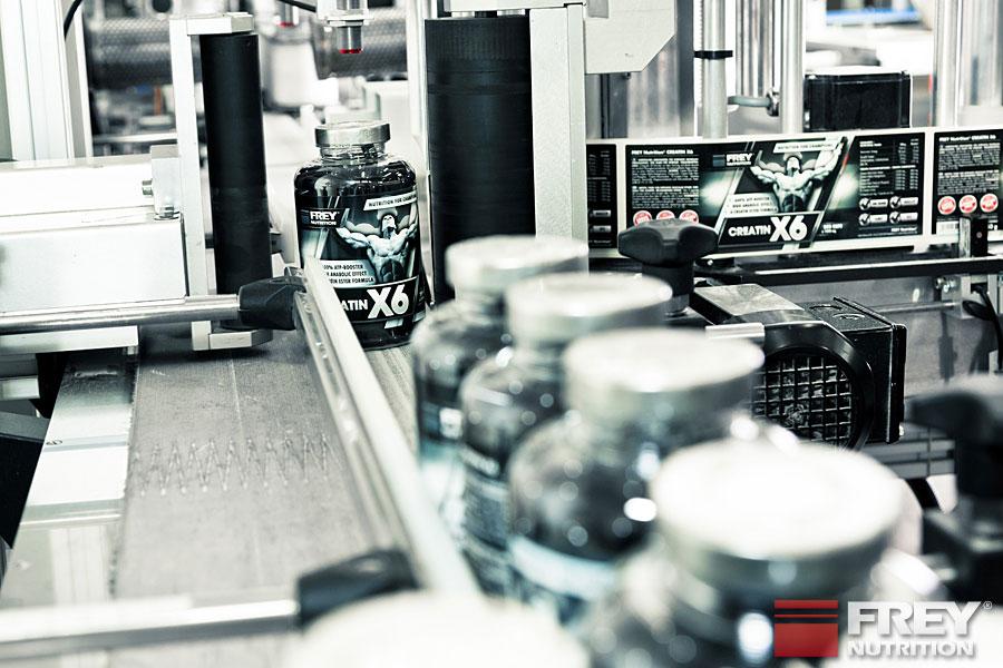 CREATIN X6 Produktion
