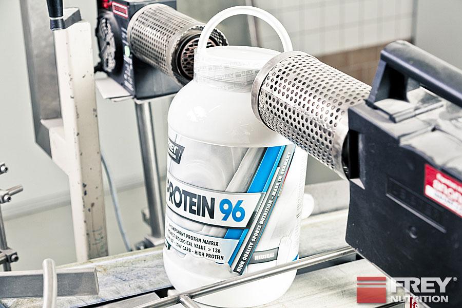 PROTEIN 96 Produktion und Sleeving