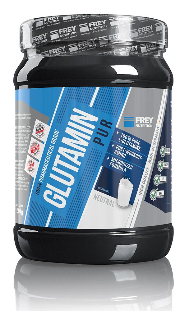 Glutamin wirkt sich positiv auf das Muskelglykogen aus