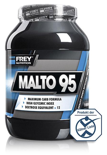 MALTO 95 für eine rasche Kohlenhydrataufnahme