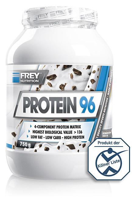 PROTEIN 96 mit dem weltweit höchsten Proteinanteil