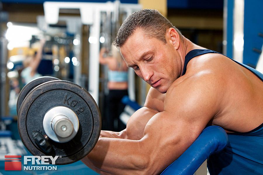 Protein wird vor allem nach dem Training benötigt
