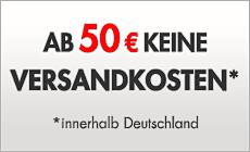 Ab 50 EUR keine Versandkosten